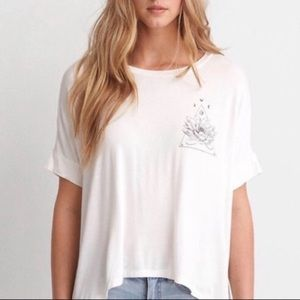 AMERICAN EAGLE SOFT AND SEXY LOTUS TOP